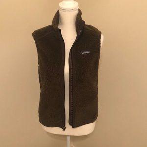 Patagonia Fleece Vest brown